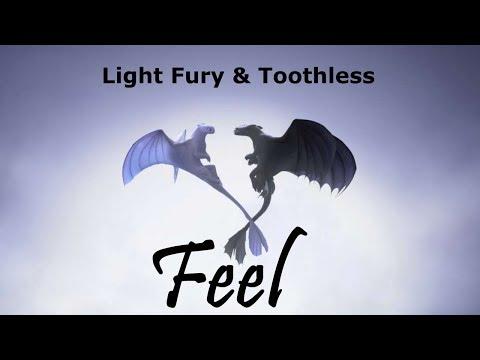 Toothless & Light Fury | Feel