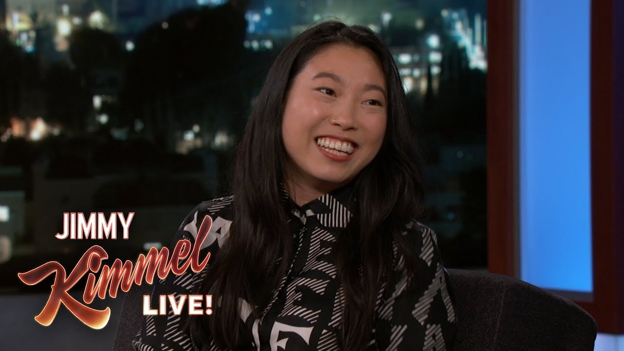Awkwafina's been making her family laugh since she was 6, according to her grandmother