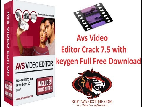 1000% working: AVS Video Editor 7 5 + Crack 2017 with link download