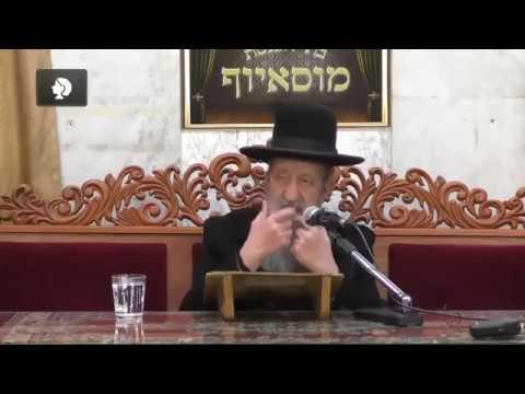 הרב בן ציון מוצפי פורים - שיעור ברמה גבוהה על ישראל מעל המזל תשעט חובה לצפות!