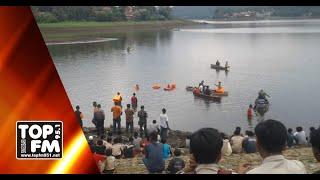 Evakuasi 2 Pelajar Tenggelam di Waduk Penjalin