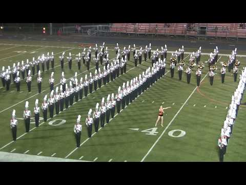 Ames High School Marching Band Halftime 9.22.17