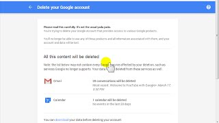 How to Delete Your Gmail Account - 2015