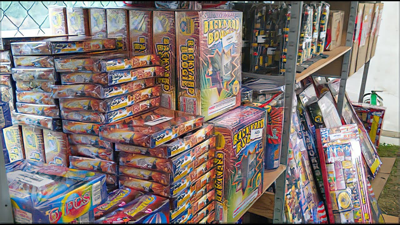 LEGAL FIREWORKS Shopping July 3rd! (Spend Less, Buy Two Get One Free)