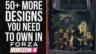 Forza Horizon 4 - 50 MORE DESIGNS YOU NEED TO OWN IN FORZA HORIZON 4