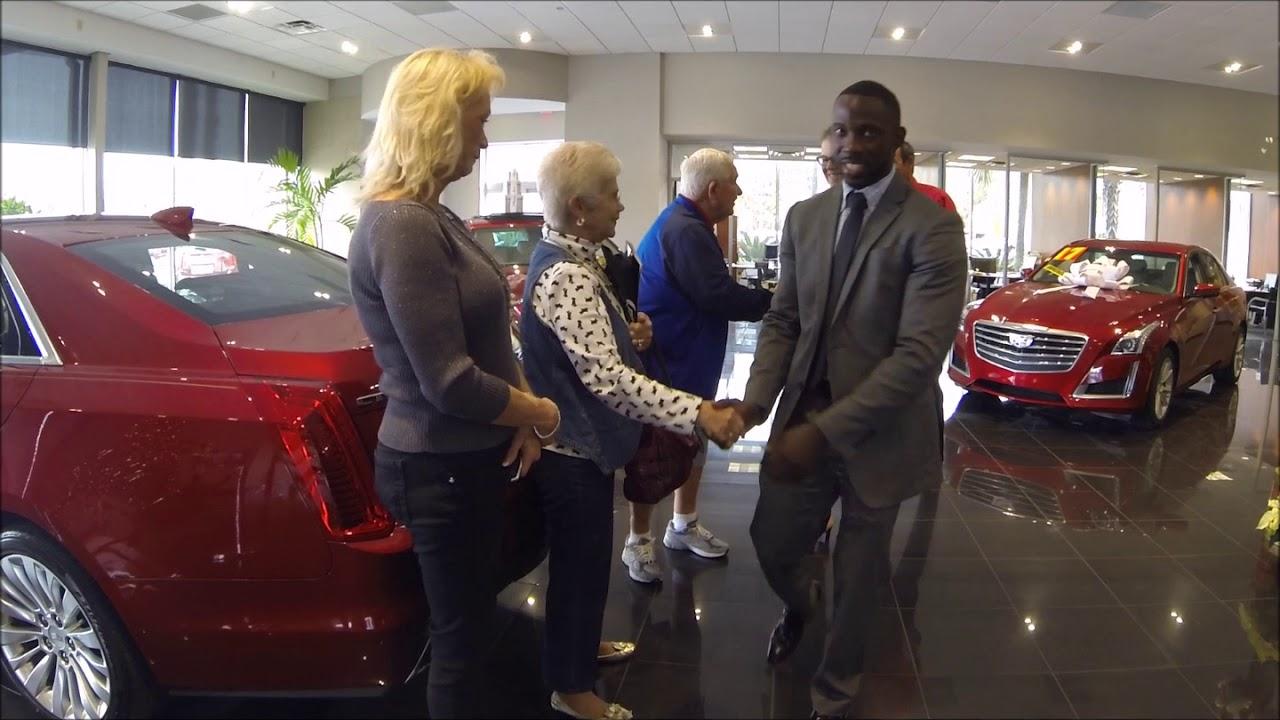 Fields Cadillac Jacksonville Florida >> Fields Cadillac Jacksonville Congratulates Mr Mrs Farley