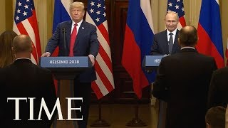 President Trump Allegedly Hid Details From Putin Meetings: Report | TIME