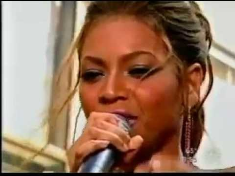 Beyonce    Dangerously In Love    Live @t   Today Show Rocafella Plaza
