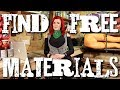 Finding free materials & furniture for upcycling!