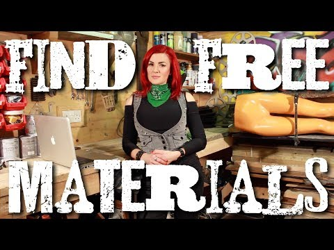Finding free materials &amp; furniture for upcycling!<a href='/yt-w/P-spTN2a2EA/finding-free-materials-amp-furniture-for-upcycling.html' target='_blank' title='Play' onclick='reloadPage();'>   <span class='button' style='color: #fff'> Watch Video</a></span>