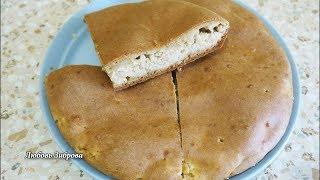 Быстрый пирог на кефире с любой начинкой. Вкуснейший рецепт.