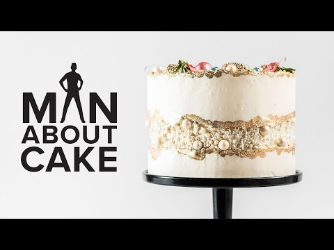 JJR's Fancy Fault Line Wedding Cake | Man About Cake