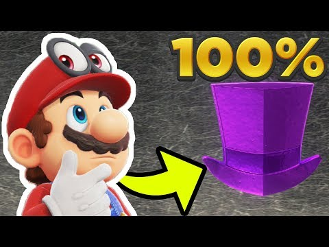 Super Mario Odyssey - Cap Kingdom ALL 50 REGIONAL COIN LOCATIONS! [100% Guide]