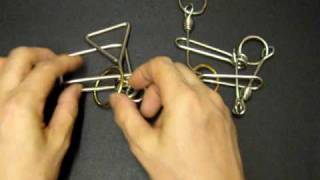 Metal ring puzzle----Fantastic  five