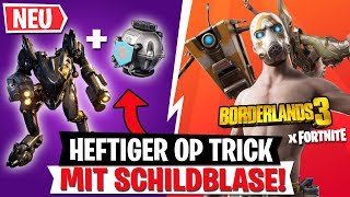 OP TRICK with shield bubble! GET FREE Borderlands 3 Skins! | Fortnite Update English
