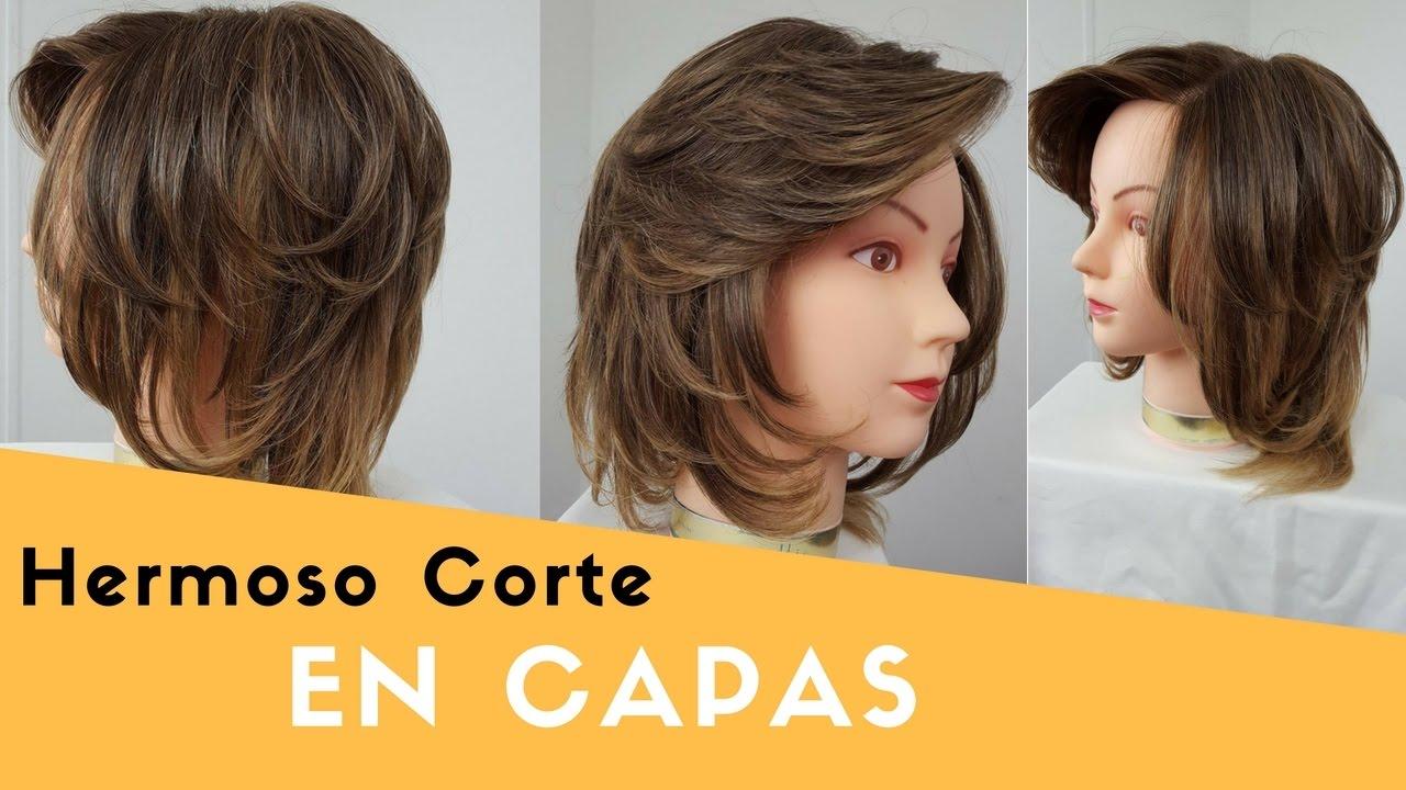Como cortar el pelo en capas grafiladas