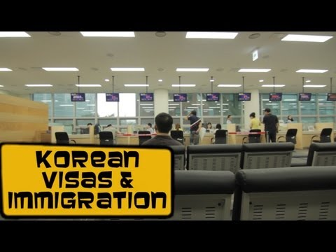 Korean visa - Seoul immigration  [Life in Korea #50]