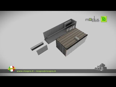 R.I. SpA - Modular Building Systems - presents MODUS New Generation