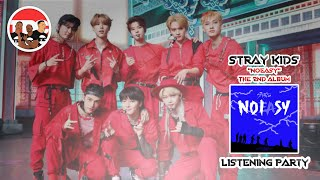 """Stray Kids """"SSICK"""" Reaction - """"NOEASY"""" Listening Party"""