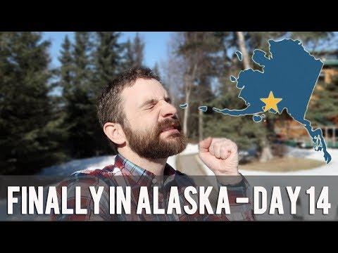 FINALLY IN ALASKA - Driving to Alaska - DAY 14
