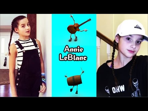 Annie LeBlanc Musical.ly Compilation 2017   presshandstands7 Musically