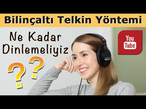 What we need to listen up subliminal suggestion? Umit Zileli