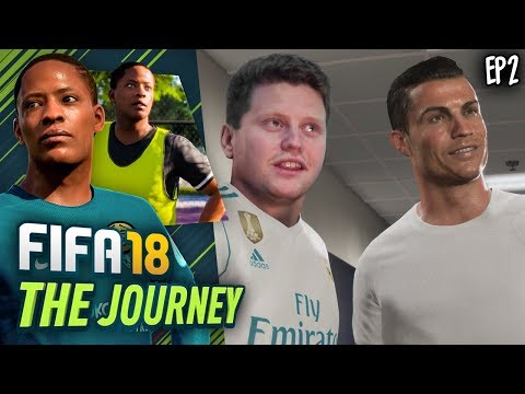 I MET CRISTIANO RONALDO! (FIFA 18 The Journey #2)