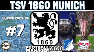 TSV 1860 Munich FM20 | S5 EP7 | EUROPEAN FOOTBALL WILL BE OURS! | Football Manager 2020