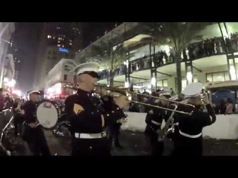 Marine Corps Band New Orleans 2015 Mardi Gras Montage