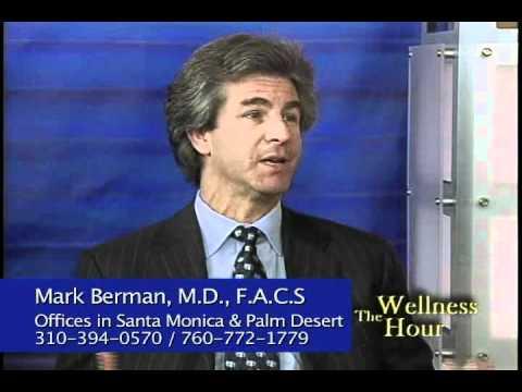 Mark Berman, M.D. Santa Monica cosmetic surgeon discusses breast augmentation with  Randy Alvarez.