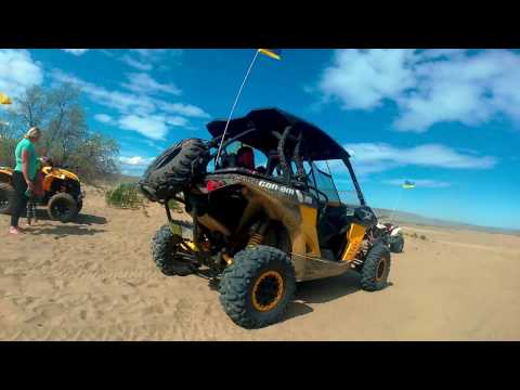 Beverly sand dunes april 2017 quad atv