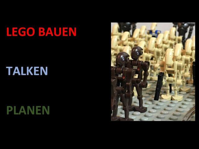 Lego Bauen, Talken, Planen/ Livestream #1