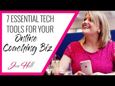 Tools For Online Business // 7 Must-Have Tools for Online Coaching Business