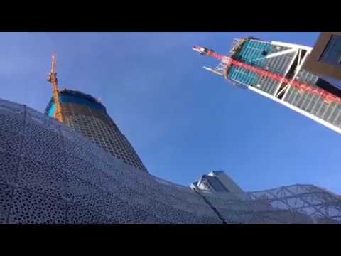 Salesforce Tower San Francisco Transbay Transit Center Progress Vlog 2