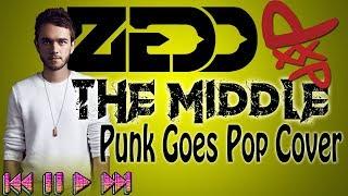 The Middle - Zedd, Maren Morris, Grey (Punk Goes Pop Cover by Fyrewerkx)