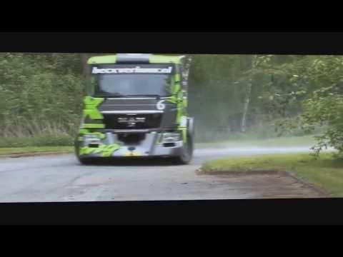 Эпическая джимхана на грузовике