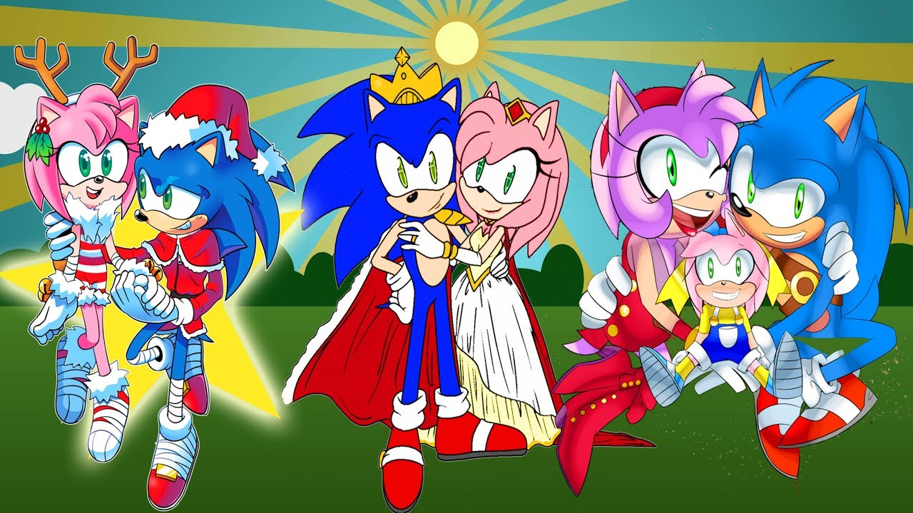 Sonic Boom Sonic Vs Amy Rose Kissing Youtube