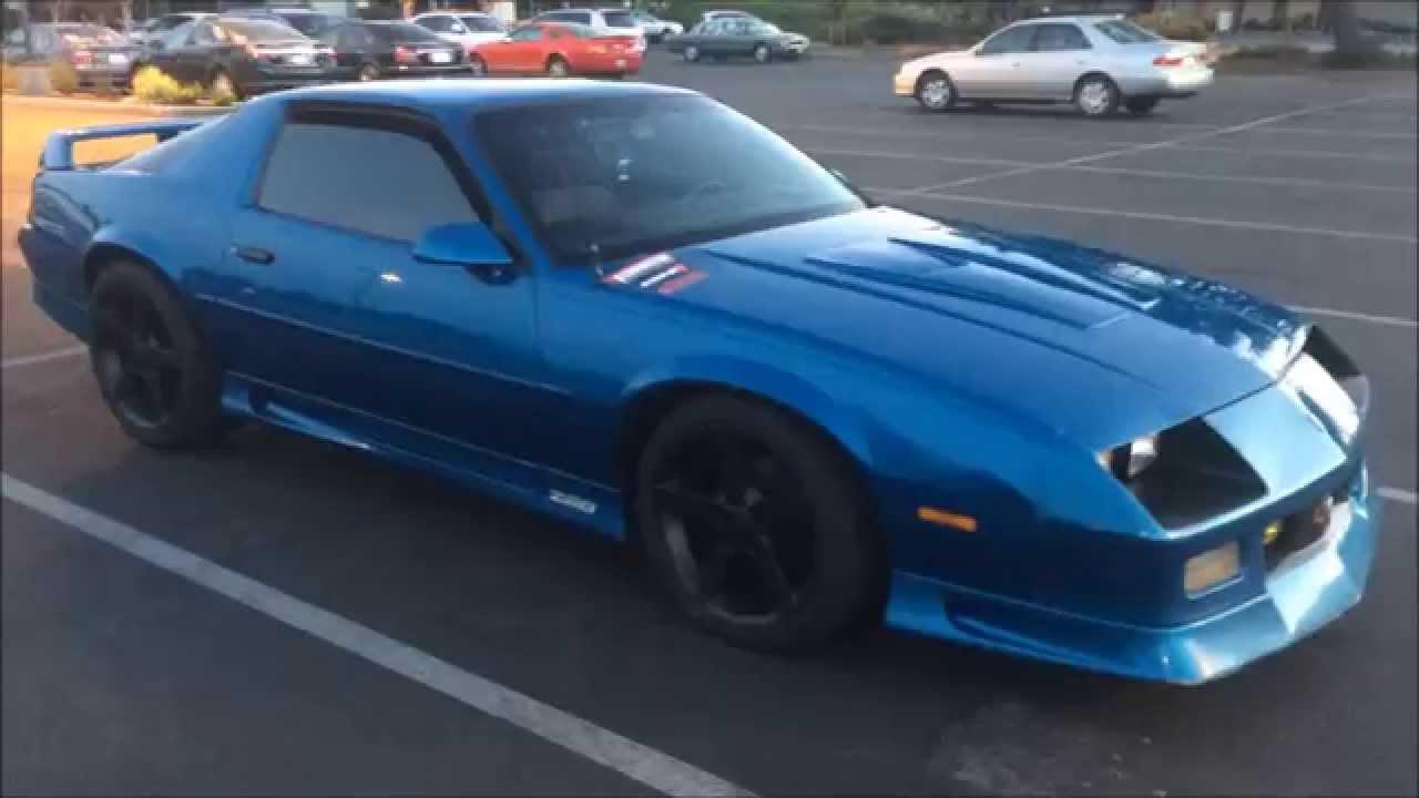 Blue Gen Camaro 3rd Petty