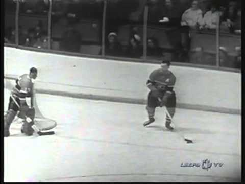 1960 NHL , Stanly Cup Final, 2 game, Montreal Canadiens- Toronto Maple Leafs (2)