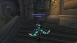 """Knutrex (899 ilvl) - Unlocked Helya's Gaze - Fury Warrior Challenge Appearance """"An Impossible Foe"""""""