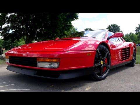 How a Ferrari Testarossa Performs with Modern Parts