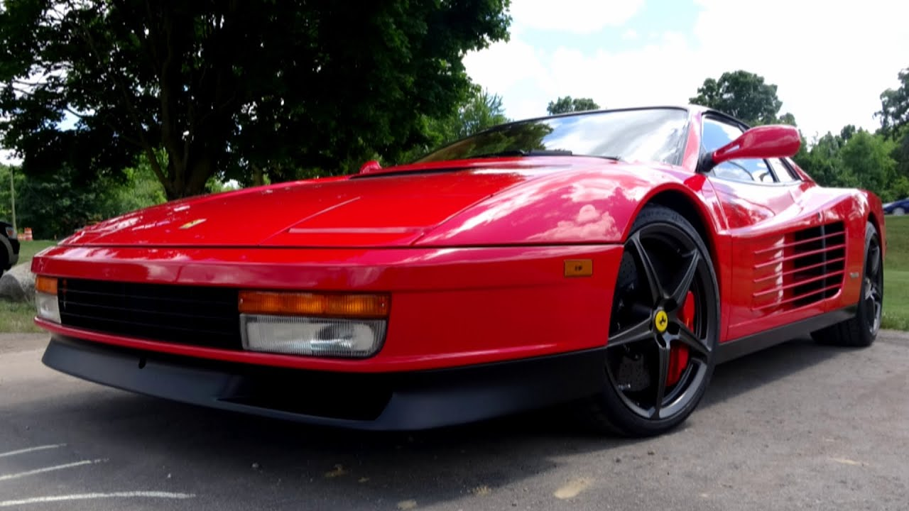 How A Ferrari Testarossa Performs With Modern Parts Youtube