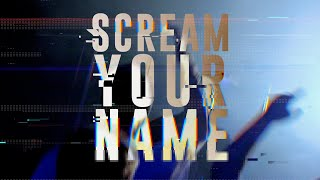 J. Carter   SCREAM YOUR NAME Youtube Music Video
