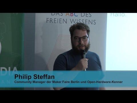 Das ABC des Freien Wissens, O=Open Everything, Philip Steffan