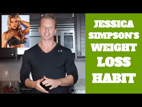 Jessica Simpson's Simple Daily Habit For Weight Loss