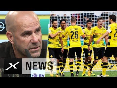 Peter Bosz erklärt Ziele und aktuelle BVB-Situation | VfL Wolfsburg - Borussia Dortmund