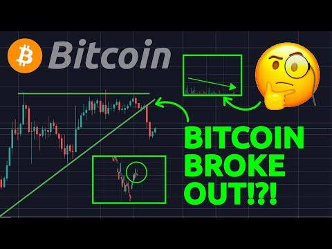 BITCOIN BROKE OUT!?! IMPORTANT SIGNS!! ETHEREUM BROKE RESISTANCE!! CAN IT HOLD ??