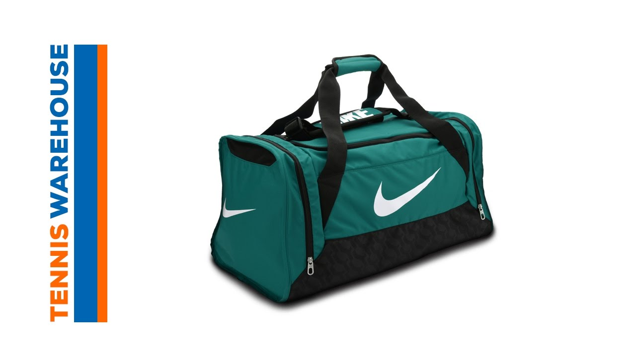 9f21aeb81 Nike Brasilia 6 Medium Duffel Bag - YouTube