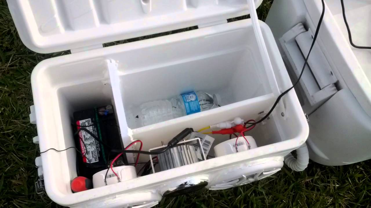 how to build a cooler stereo