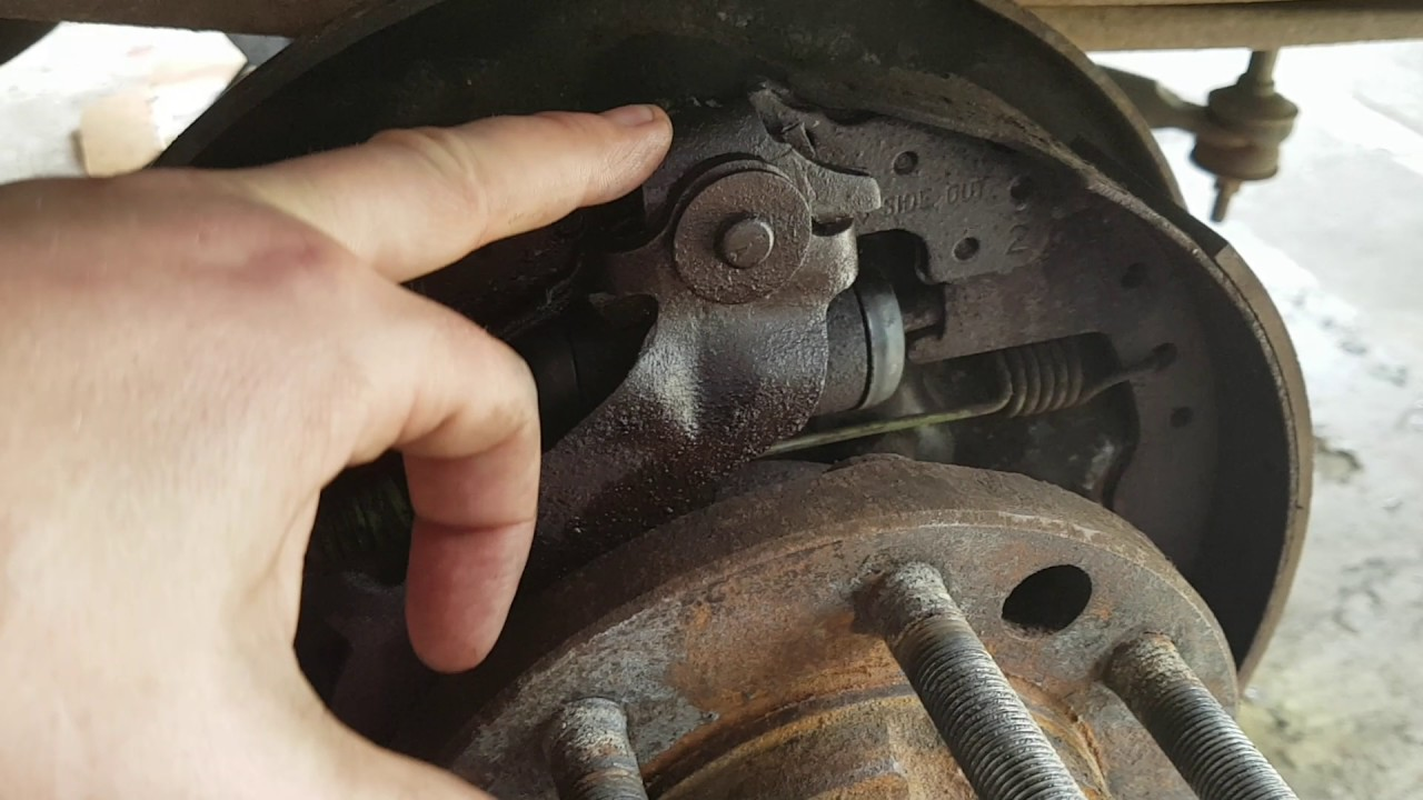 1990 f250 broken parking brake cable [ 1280 x 720 Pixel ]